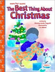 The best thing about Christmas by Christine Harder Tangvald