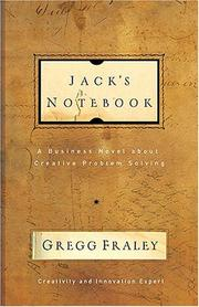 Jack's notebook by Gregg Fraley