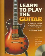 Learn to Play the Guitar PDF