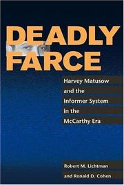 Deadly farce by Robert M. Lichtman