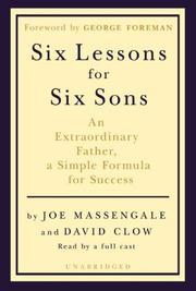 Six Lessons for Six Sons PDF