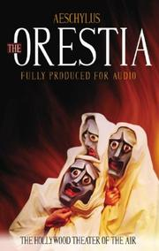 Cover of: The Oresteia by Aeschylus