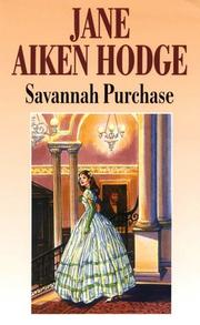 Savannah Purchase by Jane Aiken Hodge