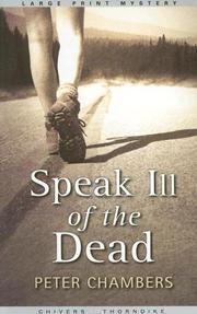 Speak Ill of the Dead PDF