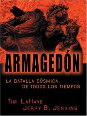 Cover of: Armagedón by Tim F. LaHaye