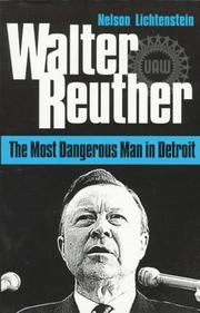 Cover of: Walter Reuther by Nelson Lichtenstein