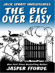 Cover of: The Big Over Easy by Jasper Fforde