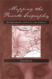Mapping the private geography by Gerri Reaves