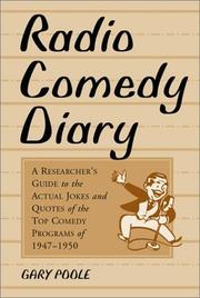 Radio Comedy Diary PDF