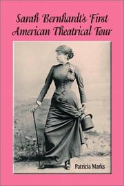 Sarah Bernhardt's First American Theatrical Tour, 1880-1881 PDF