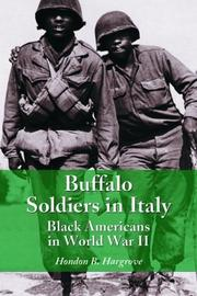 Buffalo soldiers in Italy by Hondon B. Hargrove