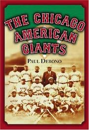 The Chicago American Giants PDF