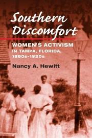 Southern discomfort by Nancy A. Hewitt