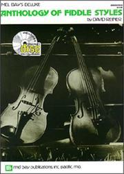 Mel Bay Deluxe Anthology of Fiddle Styles PDF