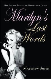 Marilyn's Last Words PDF