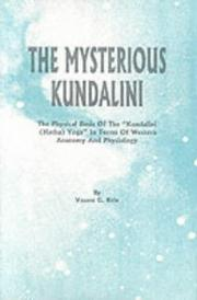 The mysterious kundalini by V. G. Rele