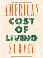 American Cost of Living Survey PDF