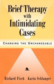 Brief therapy with intimidating cases PDF