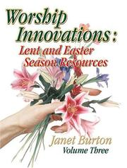 Worship Innovations by Janet Burton