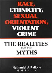 Race, Ethnicity, Sexual Orientation, Violent Crime PDF