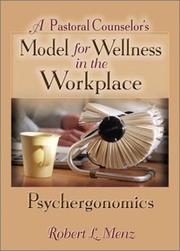 A Pastoral Counselor's Model for Wellness in the Workplace PDF