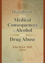Handbook of the Medical Consequences of Alcohol and Drug Abuse PDF
