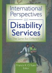 International Perspectives on Disability Services PDF