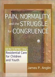 Pain, Normality and the Struggle for Congruence by James P. Anglin