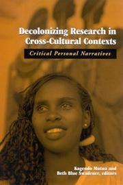 Decolonizing Research in Cross-Cultural Contexts