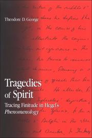 Tragedies of Spirit by Theodore D. George
