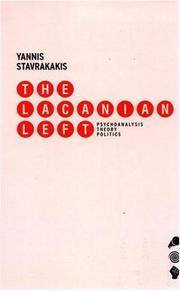 The Lacanian left by Yannis Stavrakakis