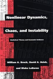 Nonlinear dynamics, chaos, and instability PDF