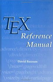 TeX reference manual by David Bausum