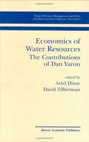 Economics of Water Resources