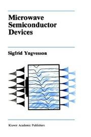 Microwave Semiconductor Devices PDF