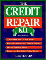 The credit repair kit by John Ventura