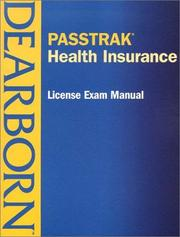 PASSTRAK Health Insurance License Exam Manual (Passtrak (Unnumbered)) PDF