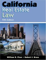 California real estate law by William H. Pivar