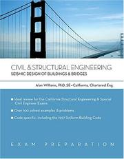 Cover of: Civil & structural engineering by Williams, Alan