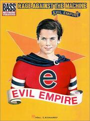 Rage Against the Machine - Evil Empire* (Bass) PDF