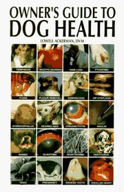 Owner's Guide to Dog Health PDF