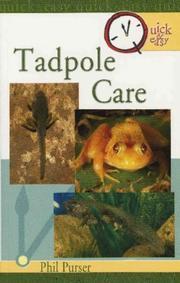 Quick & easy tadpole care PDF