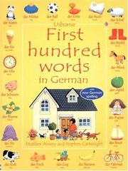 First Hundred Words in German (First Hundred Words) PDF