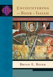 Cover of: Encountering the Book of Isaiah by Bryan E. Beyer