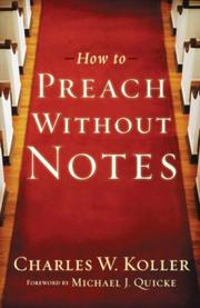 How to Preach without Notes PDF