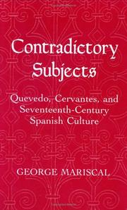 Contradictory subjects by George Mariscal