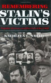 Remembering Stalins victims