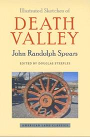 Illustrated sketches of Death Valley and other borax deserts of the Pacific Coast PDF