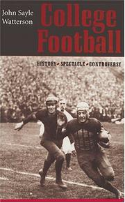 Cover of: College Football by John Sayle Watterson