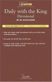 BLS Daily with the King (Believer's Life System) by Glyn Evans